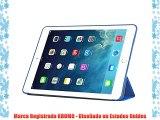 KHOMO Funda iPad Mini 4 - Carcasa Azul Oscura Ultra Delgada y Lig?ra con Soporte y Smart Cover