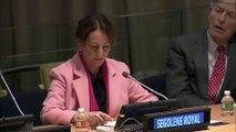 Sommet des investisseurs sur le risque climatique à New York : Ségolène Royal appelle à entrer dans une économie bas carbone