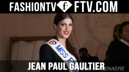 Jean Paul Gaultier Arrivals | Paris Haute Couture S/S 16 | FTV.com