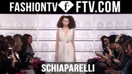 Schiaparelli Runway Show | Paris Haute Couture S/S16 | FTV.com