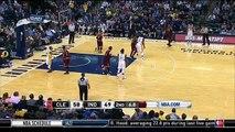 LeBron James Tomahawk Dunk - Cavaliers vs Pacers - February 1, 2016 - NBA 2015-16 Season