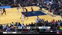 Myles Turner Rejects LeBron's Dunk Attempt - Cavaliers vs Pacers - Feb 1, 2016 - NBA 2015-16 Season
