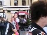 ЧЕХИЯ - ПРАГА - староместская площад - пражские куранты - шествие 12 апостолов