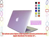 MacBook Pro 15 retina Carcasa Funda Carcasa de Protector para Apple MacBook Pro 15 retina pulgadas
