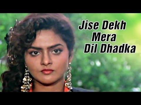 Jise Dekh Mera Dil Dhadka Film Phool Aur Kaante Ajay Devgan Madhoo ᴴᴰ