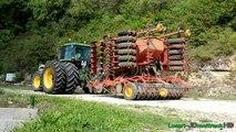 Tracteur Mythique : JOHN DEERE 4955 & Väderstad Rapid A600S | Semis de Colza 2015