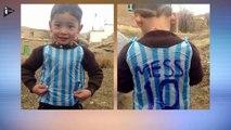 Fan de Lionel Messi, Le petit Afghan Émeut la Planète Foot