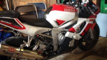 How to change oil on a 1999 to 2002 Yamaha R6 - Dailymotion