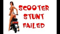 whatsapp funny videos scooter stunt failed - Very funny moment of 2016 - Hilarious fail video - try not to laugh