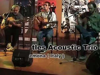 Come Together  - Live (The Beatles Acoustic Trio) - Dea Records