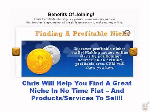Chris Farrell Membership — Review: Chris Farrell Internet Marketing Training 3