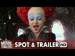 Alice Through the Looking Glass First Look TV Spot and Trailer [HD]