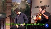 Flamenco フラメンコ: Juan Meneses de la Vega, por mariana - #Carmona XXX Concurso N. Cante #Flamenco