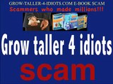 Grow Taller 4 Idiots - Grow 2-4 Inches In Just 6 Weeks?!