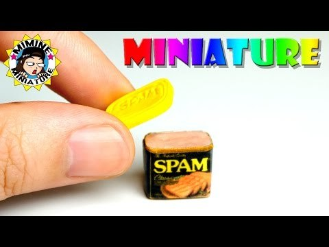 미니어쳐 스팸 만들기 Miniature - SPAM