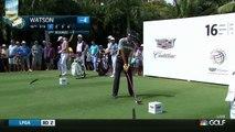 Bubba Watsons Wonderful Golf Shots 2016 WGC Cadillac Championship PGA Tournament