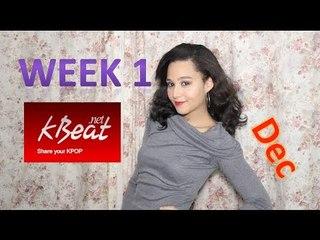 Kbeat Custard Top Kpop Fan videos Dec week 1