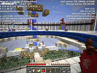 후추 화면 핵전쟁 시즌3:핵폭전쟁2일차 - 8 첫전쟁 Minecraft