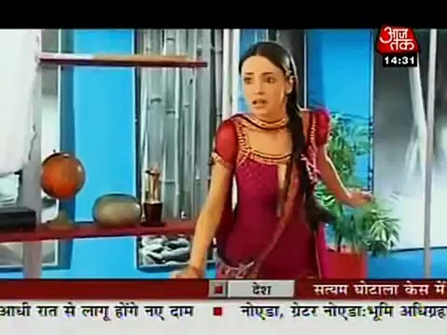 Sanaya Irani & Barun Sobti -SBB Segment -30th September 2011