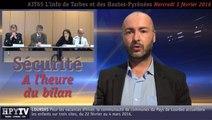 [JT65] L'info de Tarbes et des Hautes-Pyrénées (3 février 2016)