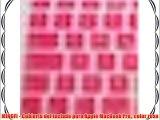 MiNGFi - Cubierta del teclado para Apple MacBook Pro color rosa