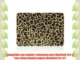 MacBook Pro 13 con Retina Caso Funda TECOOL? Ultra Delgado Multi Colores Suaves al Tacto Duro