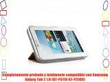 VEO | Funda Ultra Slim Para Samsung Galaxy TAB 2 7.0 Smart Case Ligera NARANJA