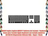 MiNGFi Ingl?s English QWERTY Cubierta del teclado / Keyboard Cover para Teclado Apple Keyboard