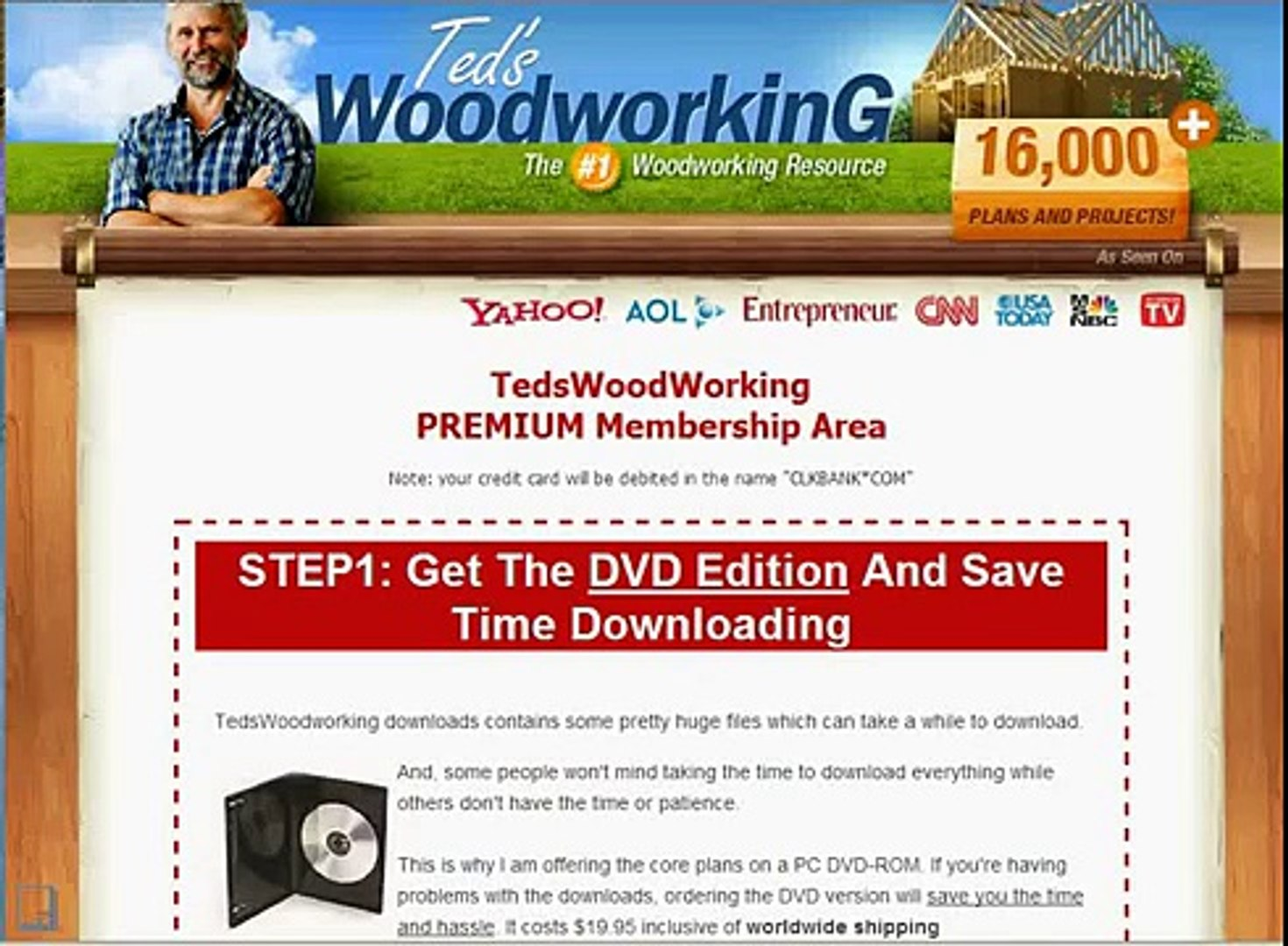 Teds Woodworking Review || Teds Wood Working Plan Review