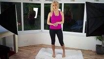 Venus Factor Women's Home Squat Workout - 5 Minute Squats get Fitted shape
