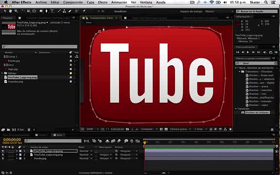 how to make after effect INTRO_clip2
