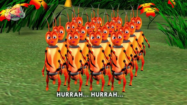 Ants Go Marching Song | Nursery Rhyme | English Nursery Rhyme | Nursery Rhyme for Children