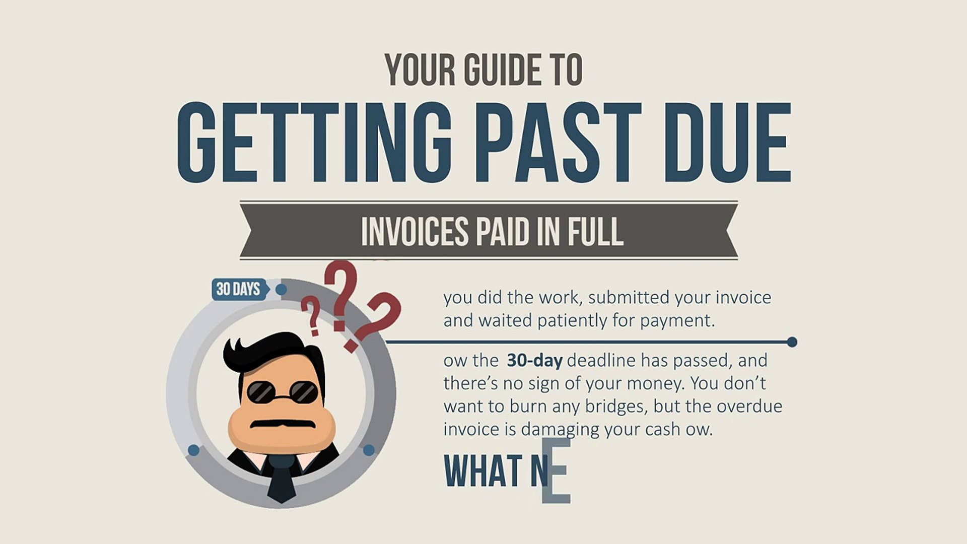 4 Ways To Getting Past Due Invoices Paid