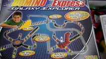 UNBOXING OF DOMINO EXPRESS RALLY TOY SET GALAXY EXPLORER WITH ROCKET EDITION BY VIVID GAMES