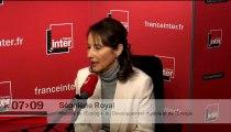 """Ségolène Royal : """"Il reste beaucoup à faire sur les pesticides, mais j'ai déjà fait beaucoup"""""""