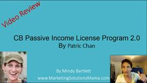 CB Passive Income License Program 2.0- Who is This Really For?
