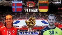 2016 POLAND European Men's Handball Championship NORGE GERMANY Håndball ГандболTauron Arena Kraków