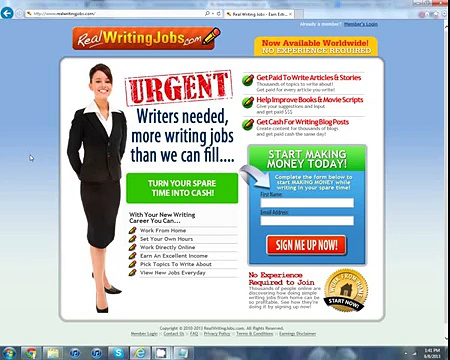 Real Writing Jobs – Find legit writing jobs online