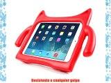 DURAGADGET Funda / Carcasa Infantil Roja Para Apple iPad Air - Dise?o De Monstro Con Cola Soporte