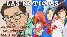 AKIRA TORIYAMA, LIVE ACTION GHOST IN THE SHELL Y NUEVOS OVAS DE GINTAMA