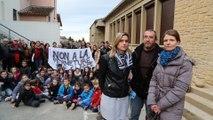 Les parents bloquent l'école de Lagnes pour éviter une fermeture de classe