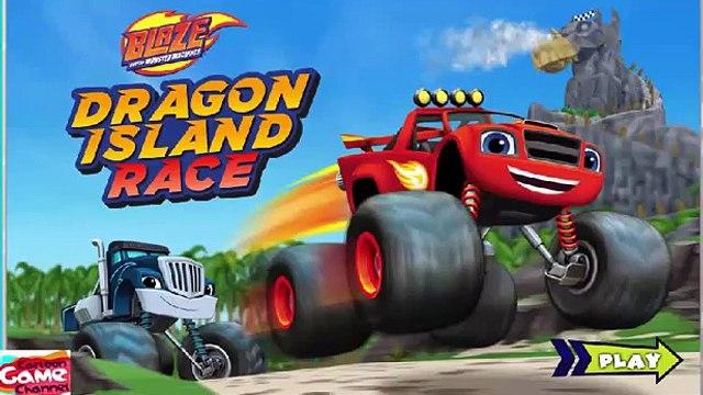 Blaze and the Monster Machines - Blaze: Dragon Island Race