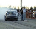Honda Civic 2.0 Killer Bee Turbo Vs. Ford Fiesta RS Turbo [11.1@220] Drag Race
