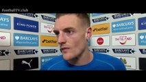Leicester vs Liverpool 2-0 | Jamie Vardy post-match interview