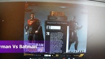 Injustice Gods Among Us Superman versus Vs Batman Sony Playstation 3 PS3 Xbox 360 WIIU Nin