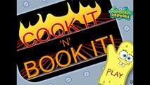 Spongebob Squarepants - Cook It N Book it - Spongebob Squarepants Episode Game