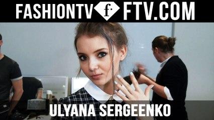 Ulyana Sergeenko Hair & Makeup | Paris Haute Couture S/S16 | FTV.com