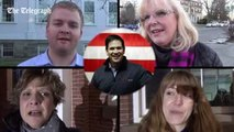 Marco Rubio supporters at New Hampshire rally explain why he should be US president