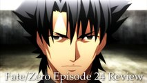 Fate/Zero - Episode 24 // Anime Review