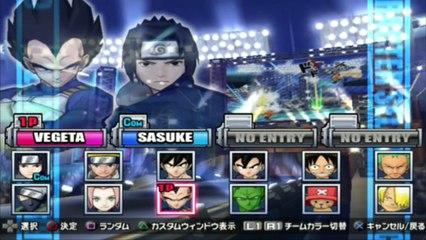 Battle Stadium D.O.N - Vegeta VS Sasuke - ¡FINAL FLASH! Vegeta Es Buena Gente